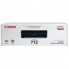 Original Black Canon 712 Toner Cartridge - (1870B002AA)